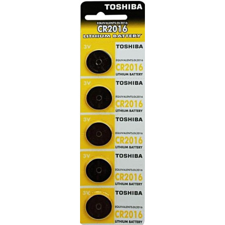 Bateria TOSHIBA 3V CR2016 PW BP-5