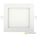 Panel LED ART, kwadrat. 220mm, 18W, ultra slim 12mm, WW 3000K