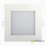 Panel LED ART, kwadrat. 155mm, 12W, AC-230V, W 4000K