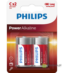 BATERIA POWER ALKALINE LR14 B2 LR14P2B/10 PHILIPS 1szt.