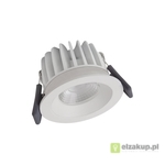 Spot LED fix 8W/3000K WT DIM IP44