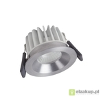 Spot LED fix 8W/3000K SI DIM IP44