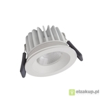 Spot-FireProof LED fix 8W/3000K WT DIM IP65