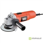 Szlifierka katowa, 701W 125mm, black decker KG725,